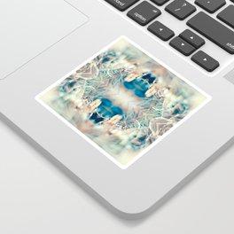 MICRO WORLD CREATURE MOUTH Sticker