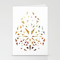 prism Stationery Cards featuring Prism  by Tayler Kiiim