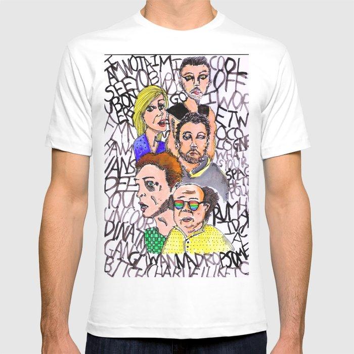 The Lsd World Of Its Always Sunny In Philadelphia T Shirt Von Uhso