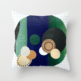 the study of circles... Throw Pillow