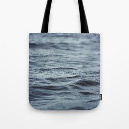 Carved Waves Tote Bag