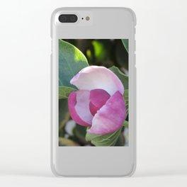 A Fig Prefigured Clear iPhone Case