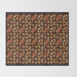 Zulu sawubona Throw Blanket