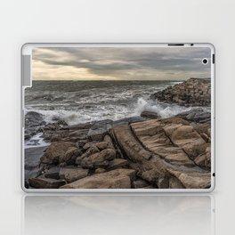 Lanescove sunset after the storm Laptop & iPad Skin