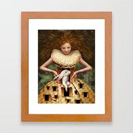 Hello Alice Framed Art Print
