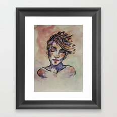 Elly Framed Art Print