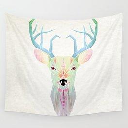 white deer Wall Tapestry