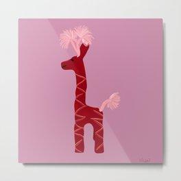 Giraffe from Sayulita Metal Print