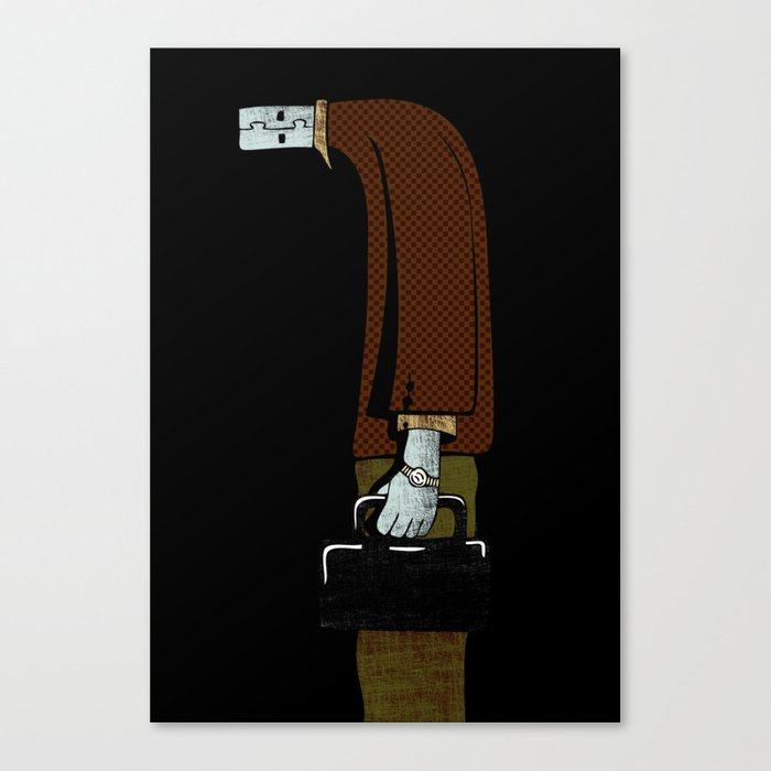 usb man Canvas Print
