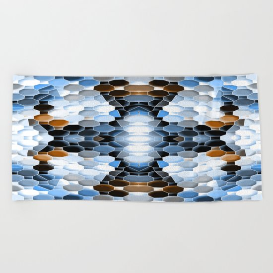 Winter Time Beach Towel