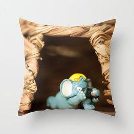 Smile! Throw Pillow