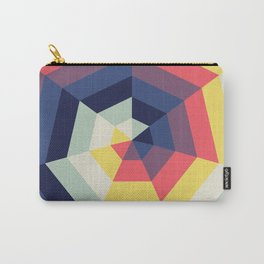 Heptagon Quilt 2 Carry-All Pouch