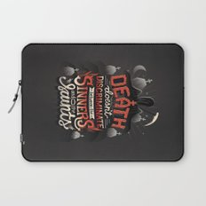 Sinners and Saints Laptop Sleeve