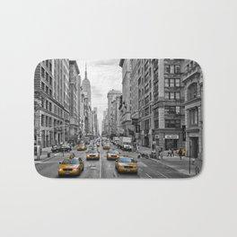 5th Avenue NYC Traffic Bath Mat