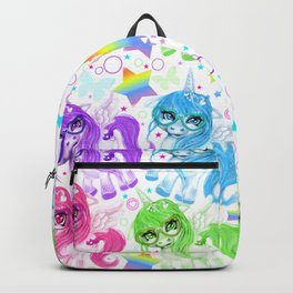 Rainbow CutieCorn Pattern Backpack