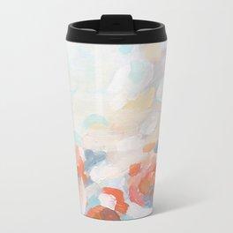 Floral, 7 Metal Travel Mug
