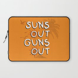 Suns Out Laptop Sleeve