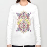 minerals Long Sleeve T-shirts featuring Opal with phantoms  by Carolina Niño