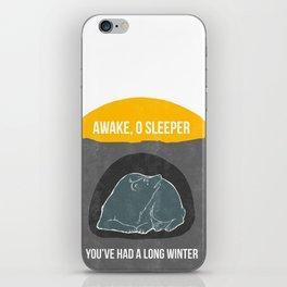 Awake O Sleeper iPhone Skin