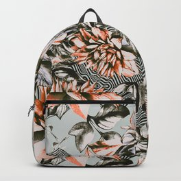 Print mix floral Backpack