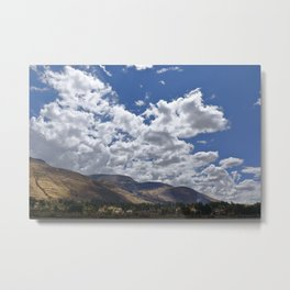 Typical landscape of the Serrania Metal Print