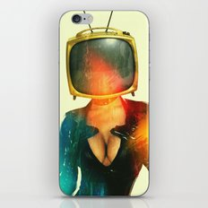 SEX ON TV - GOLDEN PUSSYCAT by ZZGLAM iPhone & iPod Skin