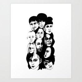 Personalities Print Art Print