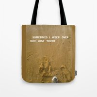 sand Tote Bags featuring sand by gasponce