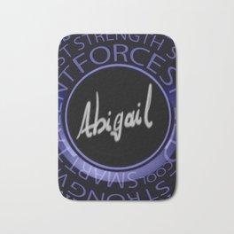 My Name is Abigail Bath Mat