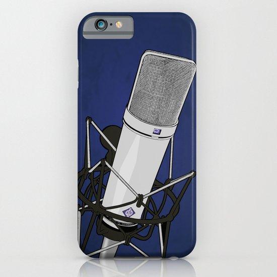 Neumann u87 iPhone & iPod Case