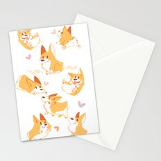 Corgi Stationery Cards
