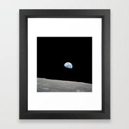 Apollo 8 - Iconic Earthrise Photograph Framed Art Print