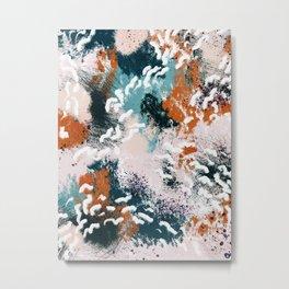 Clara Abstract Metal Print
