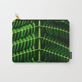 Leafed Branches Carry-All Pouch