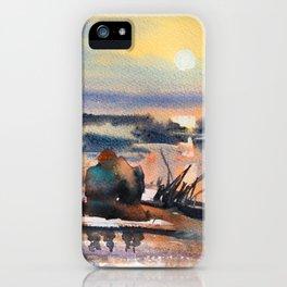 Honey Coloured Sunrise iPhone Case