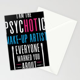 makeup, artist, cosmetics, make up artist, up, make Stationery Cards