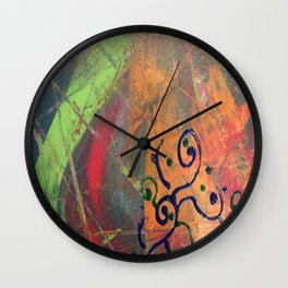 Austin Denim Rodeo Ride #1 Wall Clock