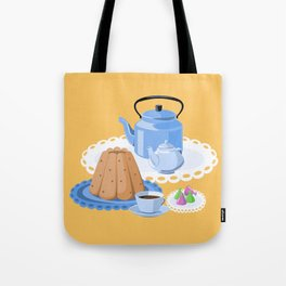Time to drink tea Tote Bag