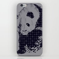 brand new iPhone & iPod Skins featuring New Brand Panda by Tobe Fonseca