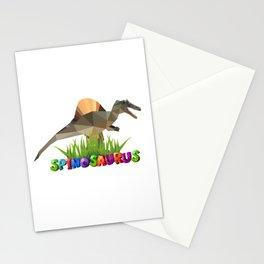 Spinosaurus cool Jurassic dinosaur Stationery Cards