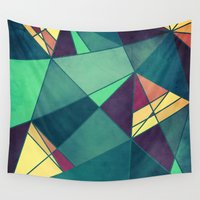 starry night Wall Tapestries featuring Starry Night by VessDSign
