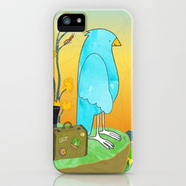 """The Journey Begins (from the book, """"You, the Magician"""") iPhone Case"""