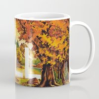 chill Mugs featuring Chill by James McKenzie