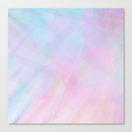 Abstract Pastel Design Canvas Print