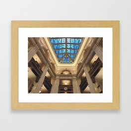 Looking Up in the David Whitney Building Framed Art Print