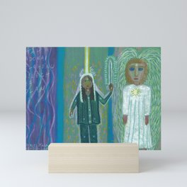 Angel and Me Mini Art Print