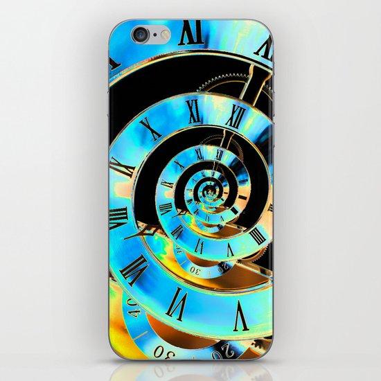 Infinite Time Blue iPhone & iPod Skin