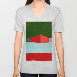 View from Lighthouse Window Unisex V-Neck