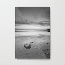 """Serenity sea..."". Tarifa beach Metal Print"