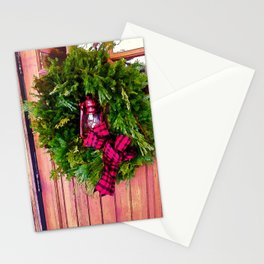 Winter in Vermont Stationery Cards